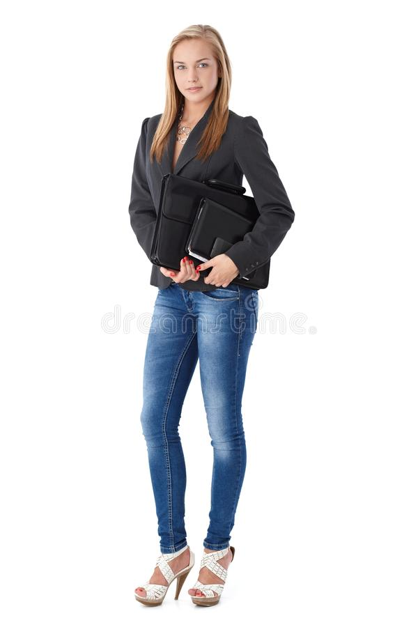 Casual business portrait stock image