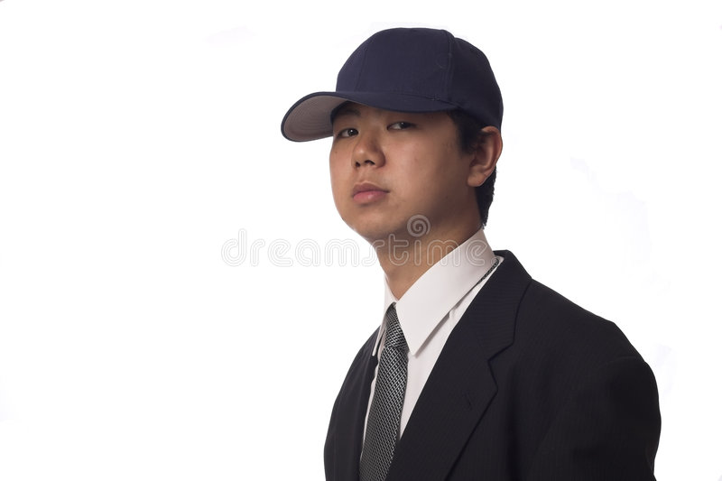 Casual businessman royalty free stock photography