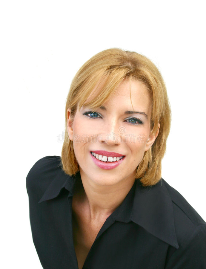 Casual businesswoman stock photos