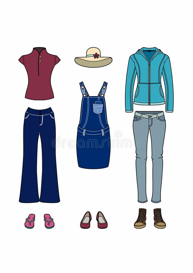 Free Casual Clothes Royalty Free Stock Image - 110620286