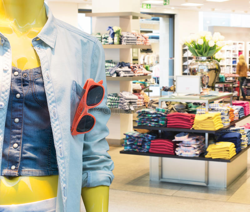 Download Casual Clothing Store Stock Photos - Image: 30875503