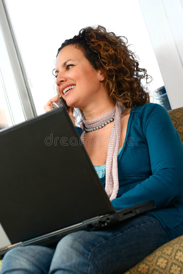 Casual, confident and relaxed royalty free stock photography