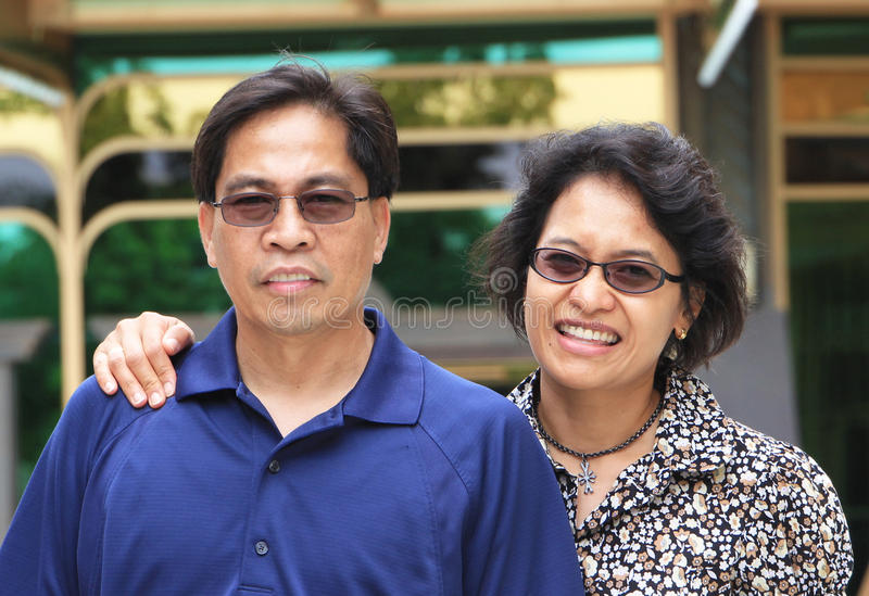 Download Casual Couple stock image. Image of filipina, couple - 22256447
