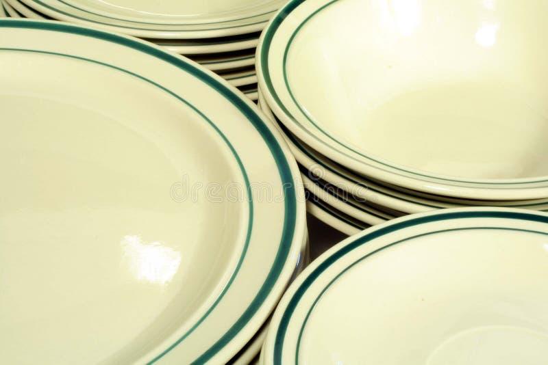 Casual Dinnerware stock photos