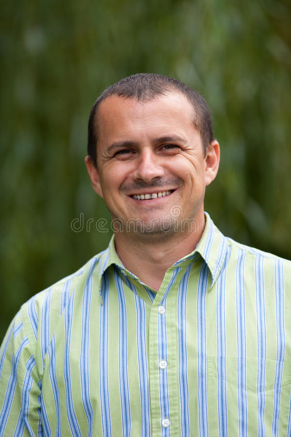 Download Casual Dressed Young Man Outdoor Stock Photo - Image: 16146232