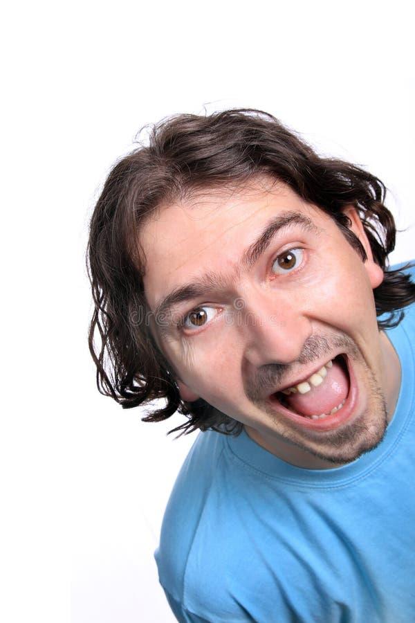 casual face happy man στοκ εικόνα