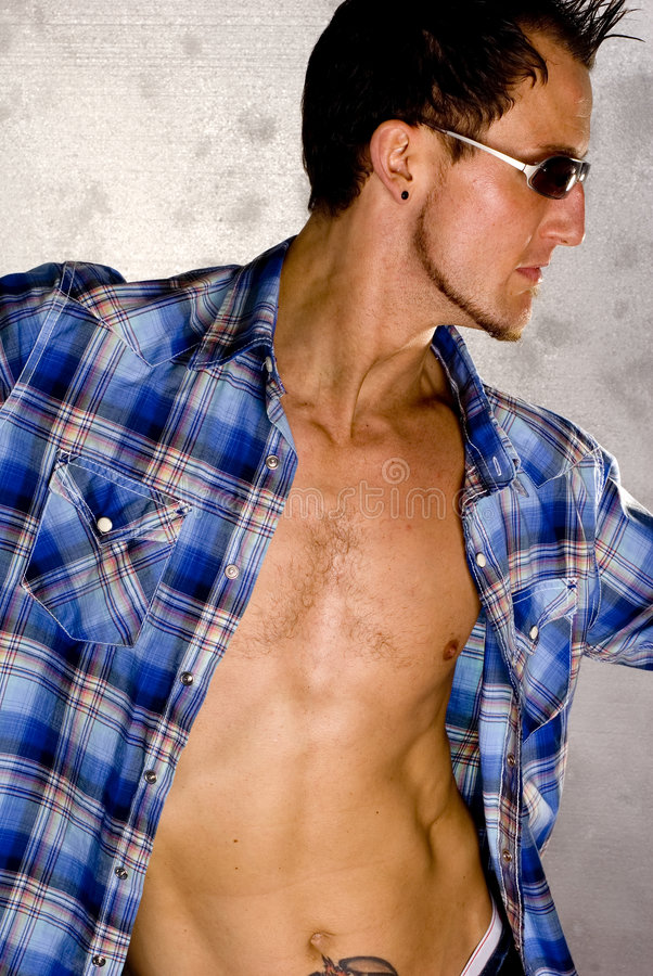 Casual Fashion Guy stock images