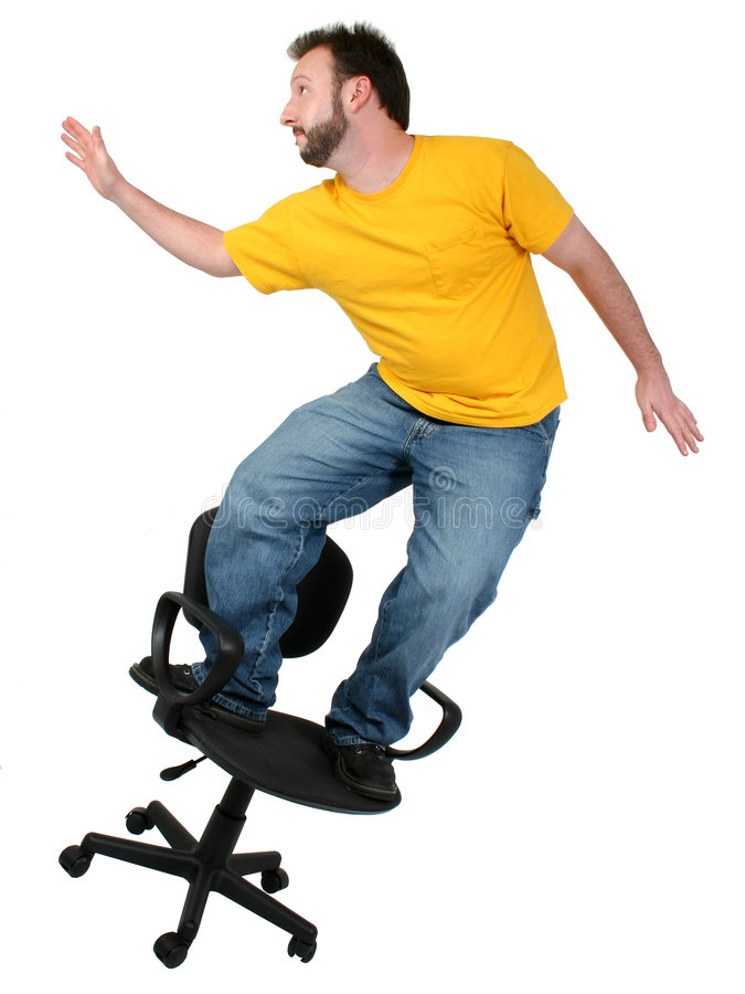 Download Casual Friday 30 Year Old Man Chair Surfing Stock Image - Image of denim, white: 112701