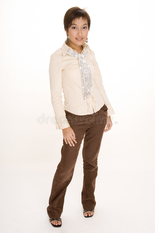 Casual Girl 2 stock photography