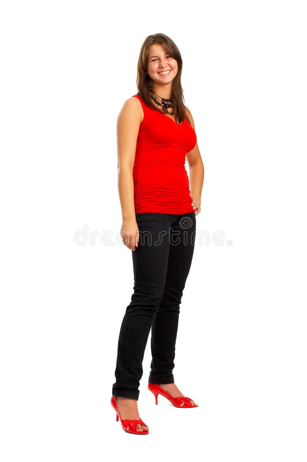 Casual Girl royalty free stock photos