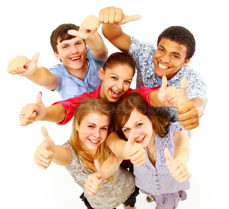 Download Casual Group Of Happy People Stock Photo - Image: 17250520