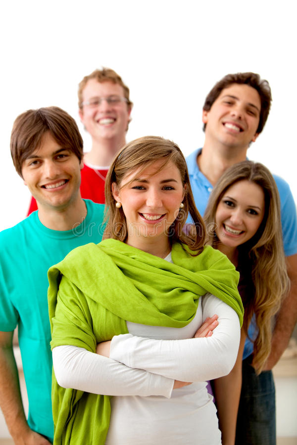 Download Casual group of people stock photo. Image of smiling - 11713178
