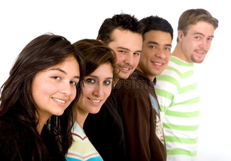 Download Casual group of people stock image. Image of college, people - 2648573