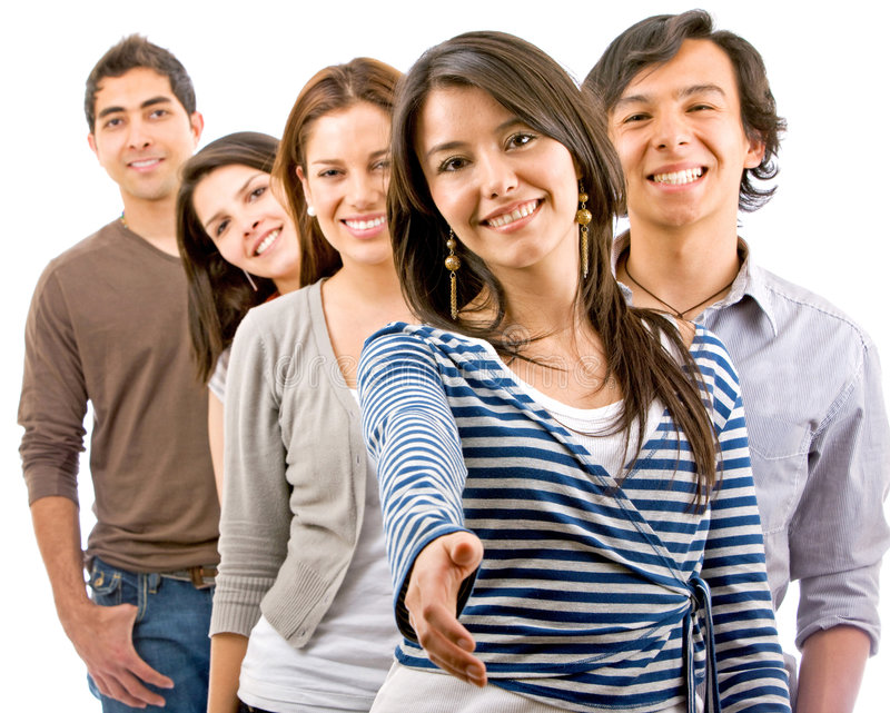 Download Casual group of people stock photo. Image of portrait - 7944420