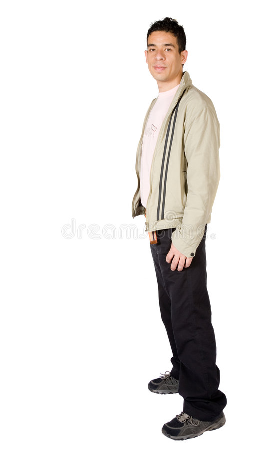 Download Casual guy full body stock image. Image of student, over - 1521095