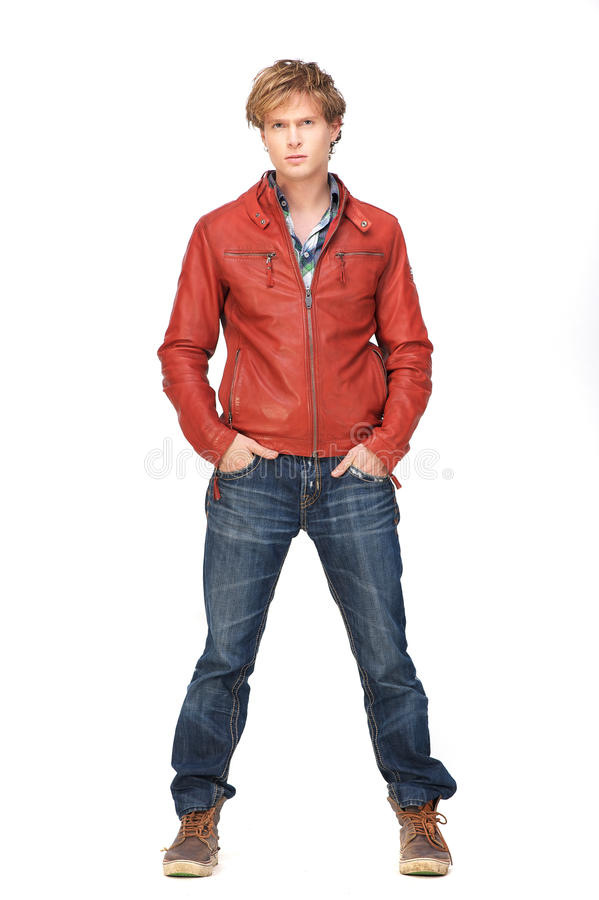 Free Casual Guy Standing Stock Photography - 28463502