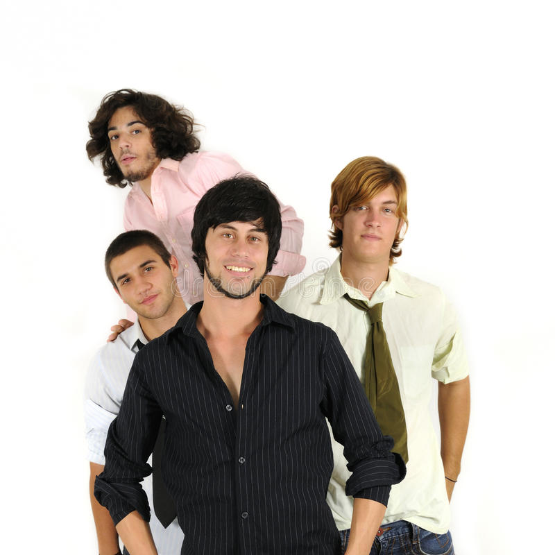 Free Casual Male Friends Standing Royalty Free Stock Photos - 11093928