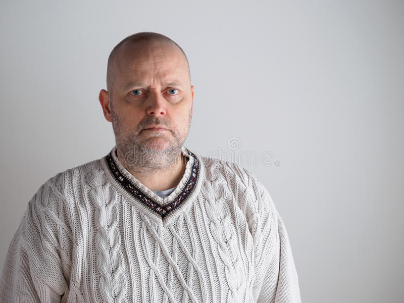 Casual male portrait royalty free stock image