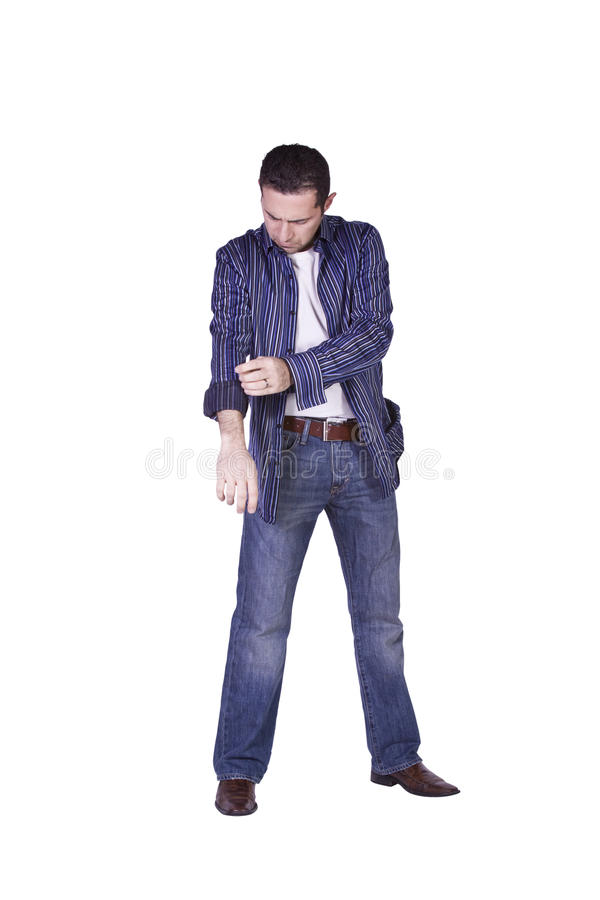 Download Casual Man Dressing Up stock photo. Image of male, casual - 12551322