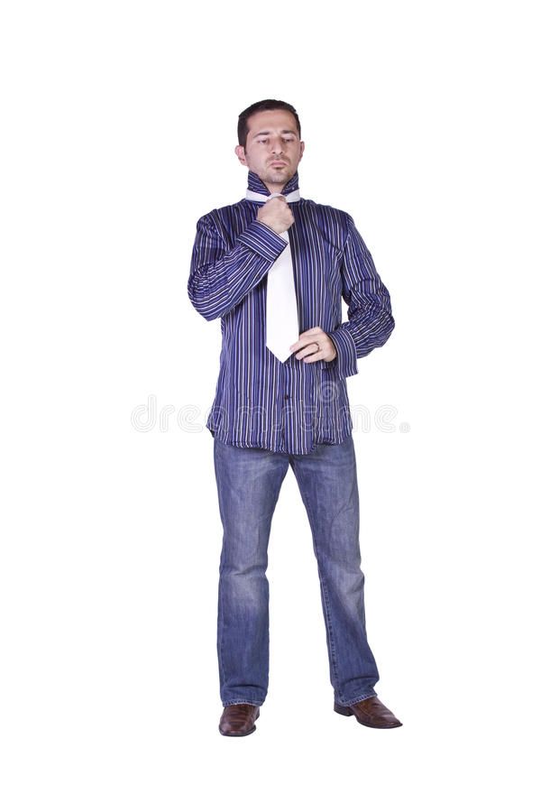 Download Casual Man Dressing Up Stock Image - Image: 12592381