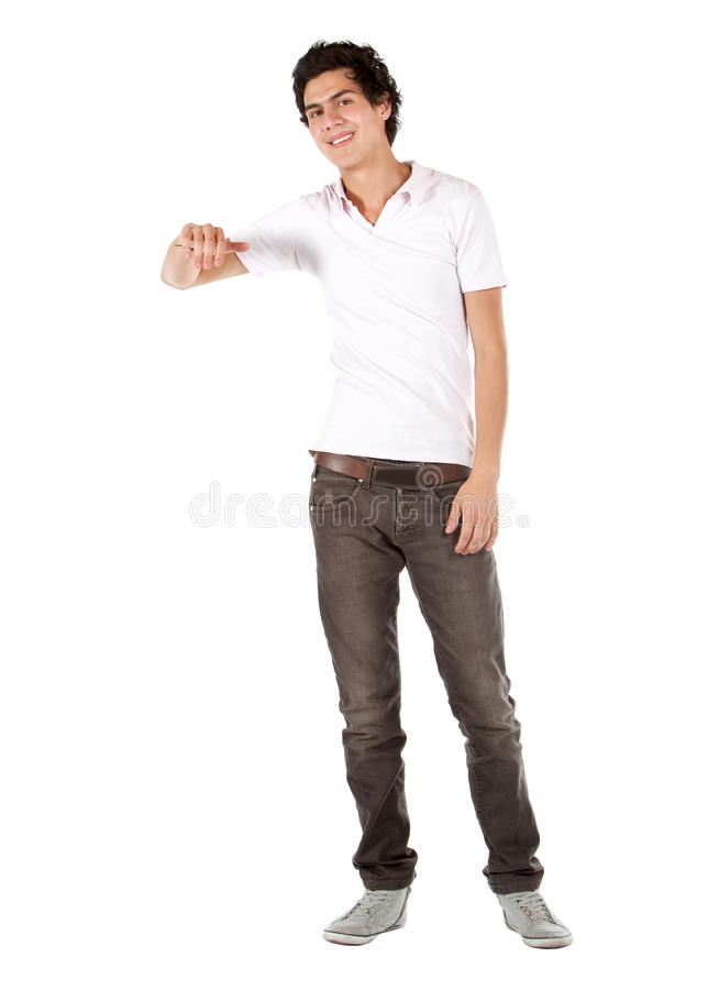 Download Casual Man Leaning On Something Stock Photo - Image: 14686216