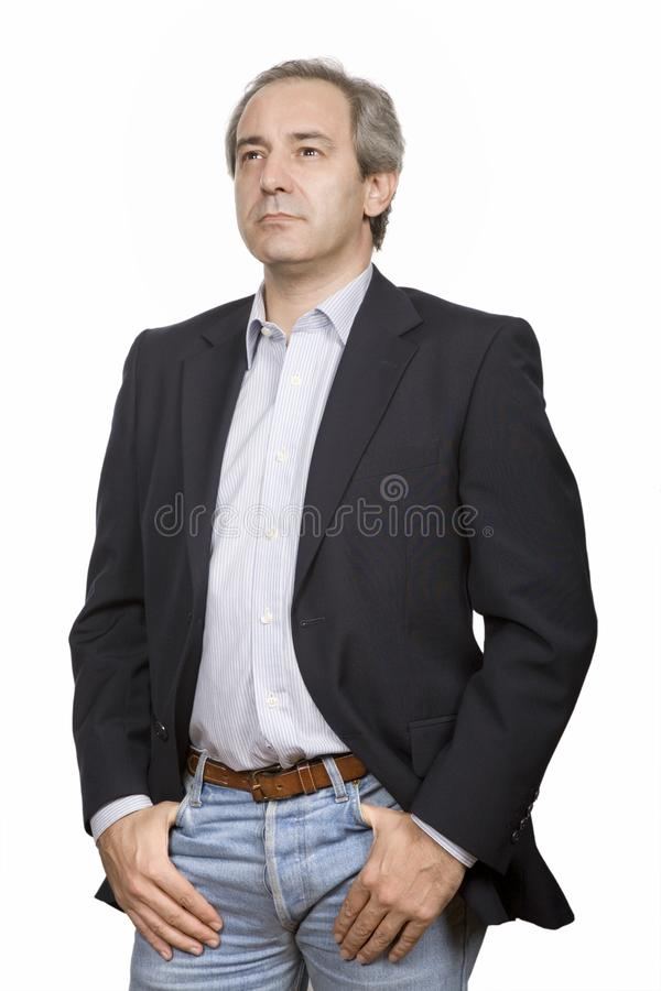 Casual man royalty free stock photo