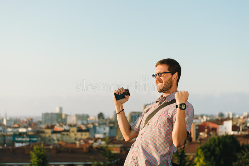 Casual professional man job success royalty free stock photography