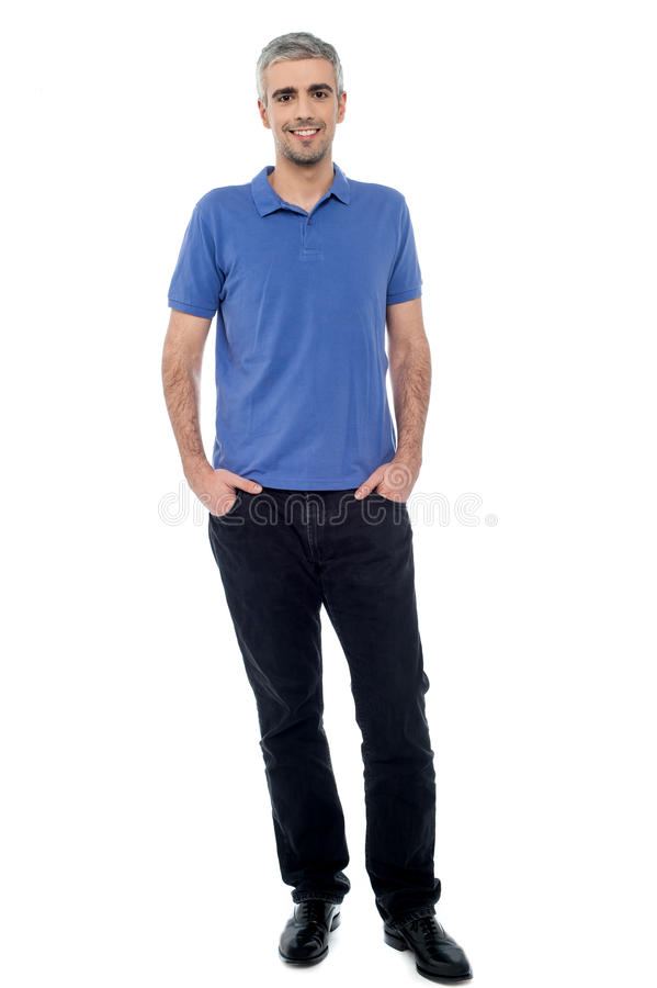 Download Casual Shot Of Relaxed Male Model Royalty Free Stock Image - Image: 38710726