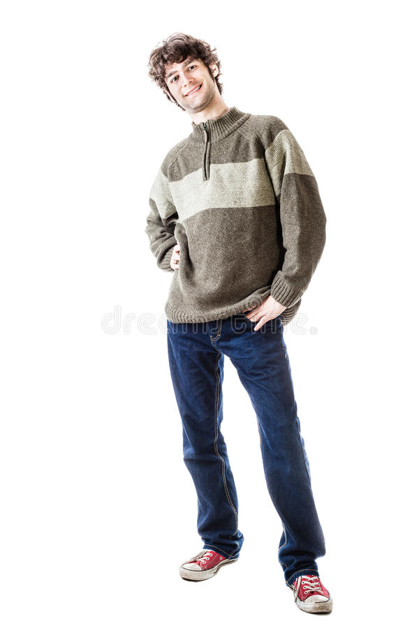 Casual student stock photography