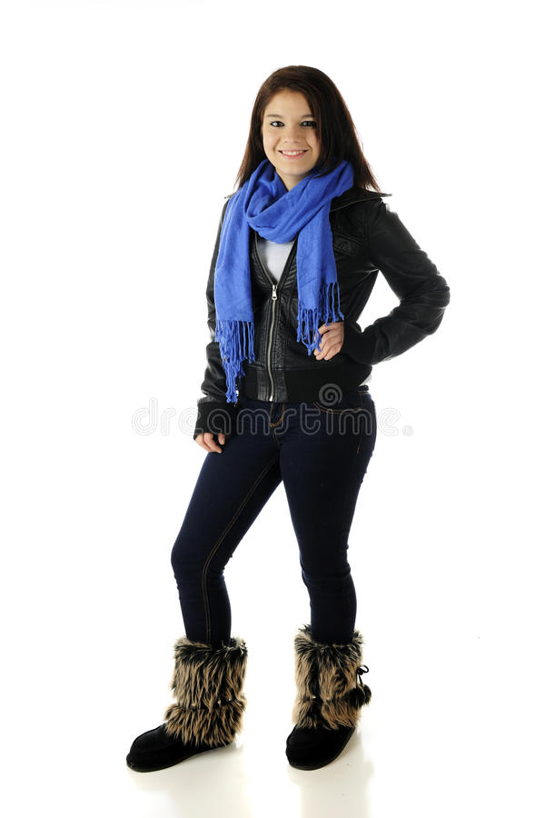 Download Casual Teen stock photo. Image of portrait, person, skinny - 27656876