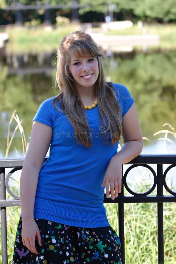 Casual Teenage Girl stock image