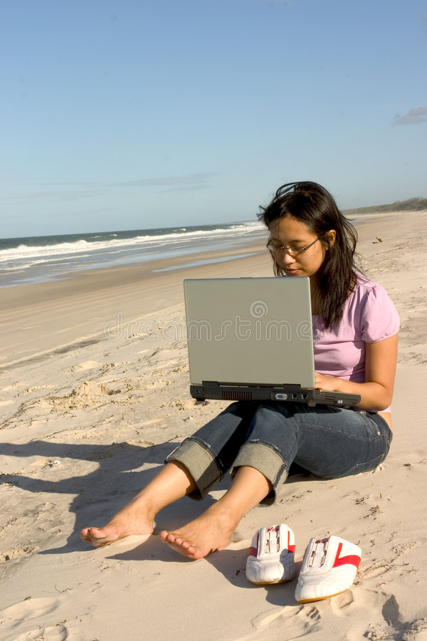 Download Casual Woman stock photo. Image of asia, mobile, relaxed - 152656