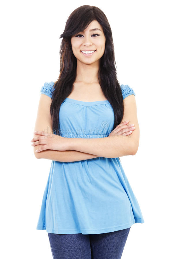 Download Casual woman stock image. Image of japanese, standing - 20142425
