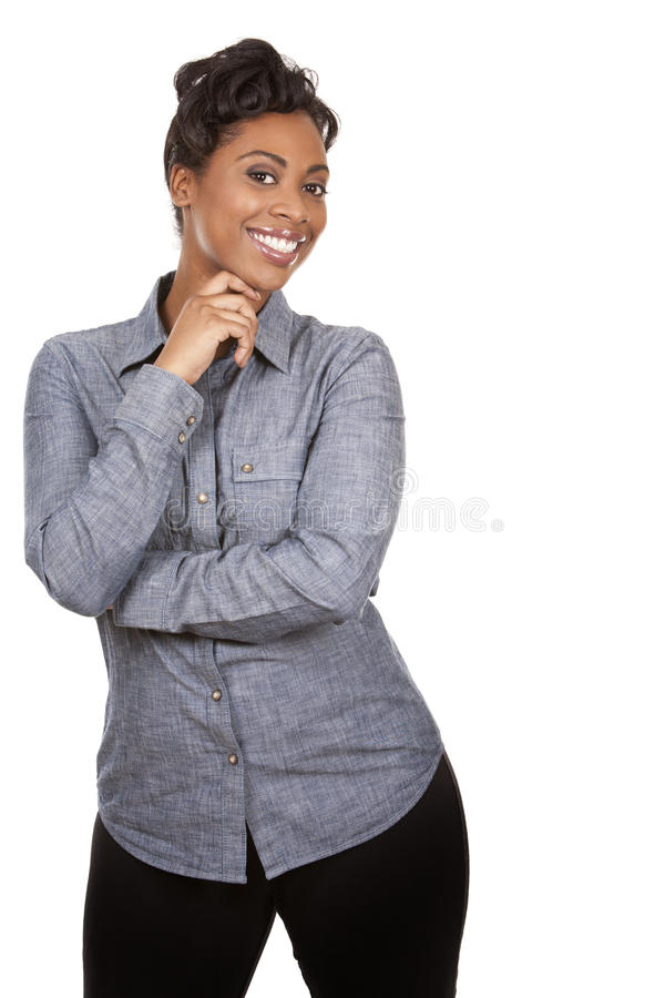 Download Casual woman stock photo. Image of black, confident, ethnicity - 29453286