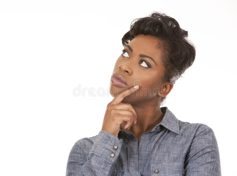Casual woman stock image