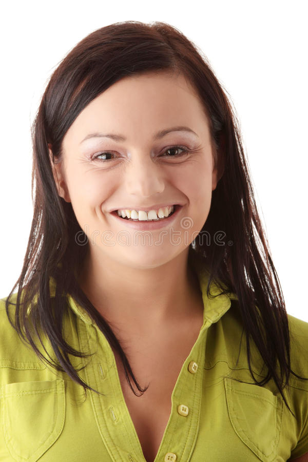 Casual woman portrait royalty free stock image