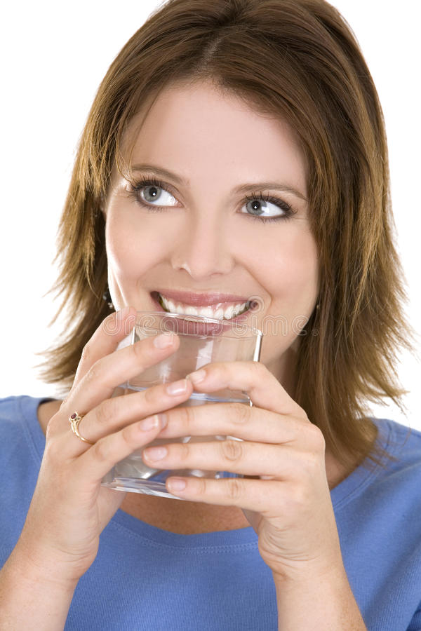 Download Casual woman with water stock photo. Image of refreshing - 20691134