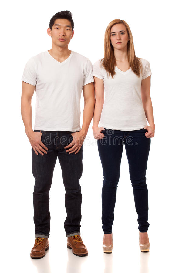 Download Casual Young Couple stock photo. Image of plain, caucasian - 29040228
