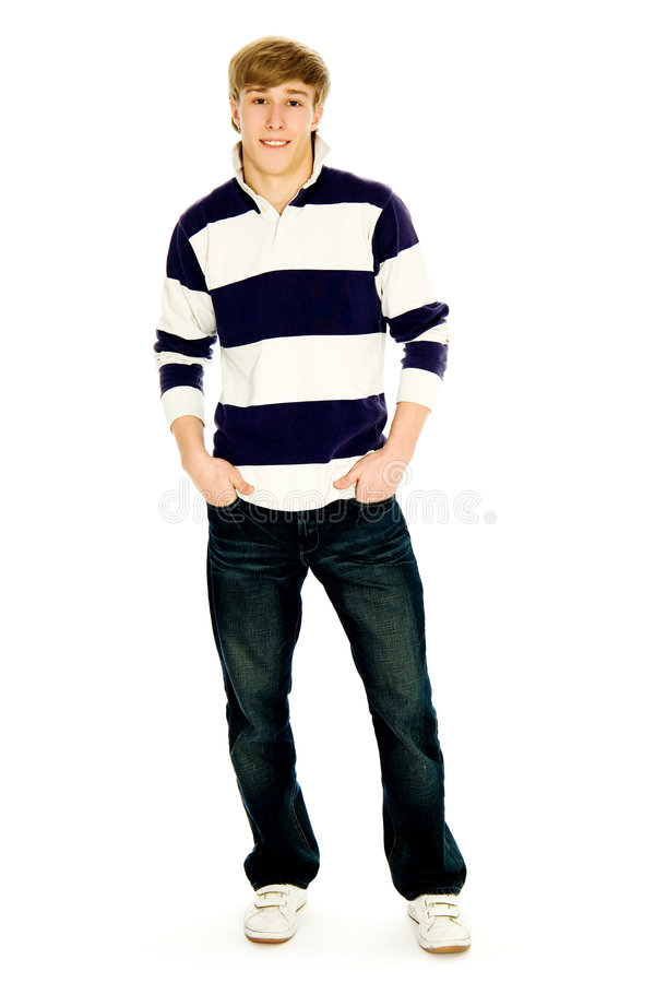Download Casual young guy stock photo. Image of smiling, positive - 8046262