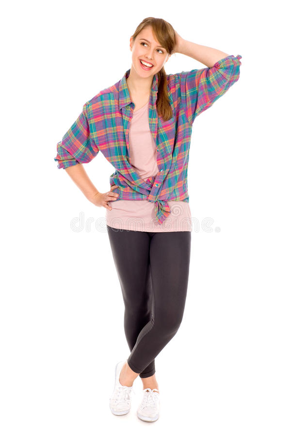 Download Casual young woman stock photo. Image of fashion, girl - 16994104
