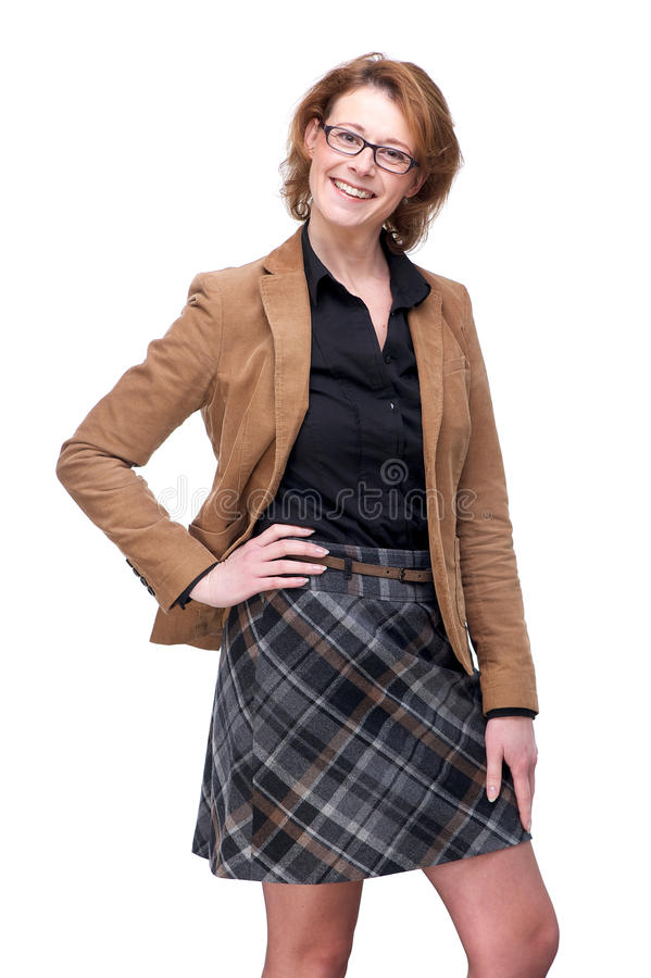 Casually Dressed Business Woman royalty free stock images
