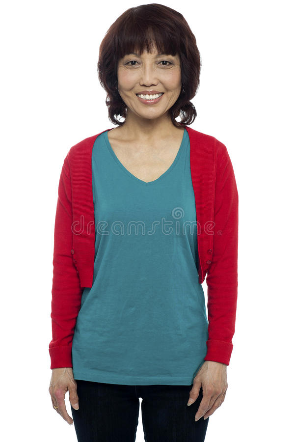Download Casually Portrait Of Smiling Asian Beauty Stock Image - Image: 26509643