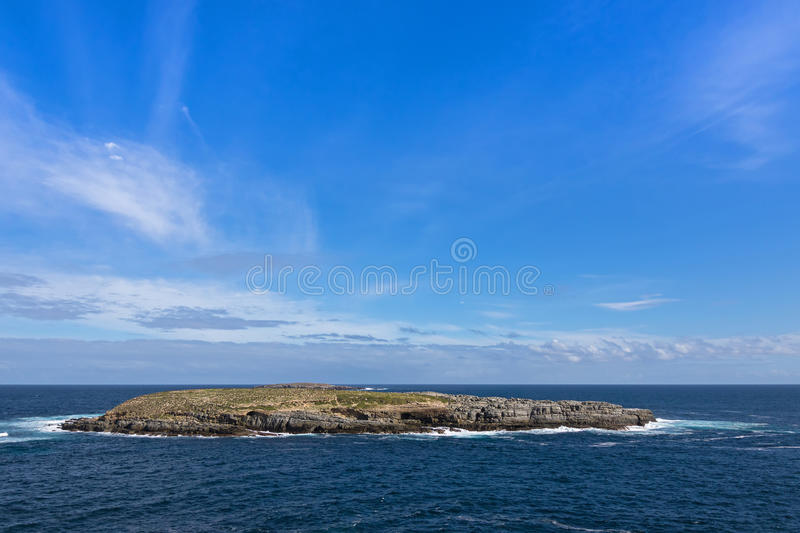 Casuarina islets, also called The Brothers, part of Flinders Chase National Park on Kangaroo Island, South Australia . View of casuarina islets, also called The stock images