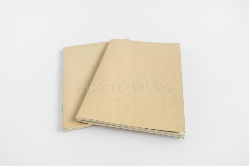 Catálogo vazio, compartimento, molde do livro com sombras macias pronto imagens de stock