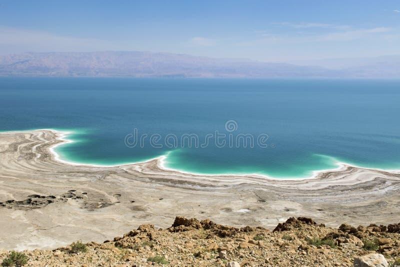 Catástrofe ambiental en el mar muerto, Israel imagenes de archivo