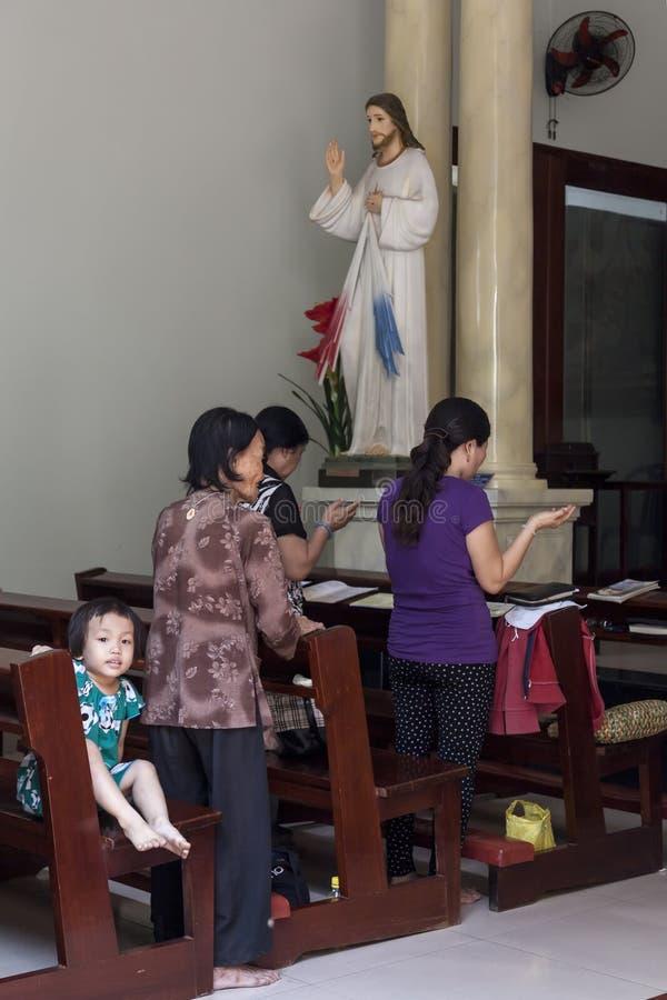 Católicos en Asia fotos de archivo