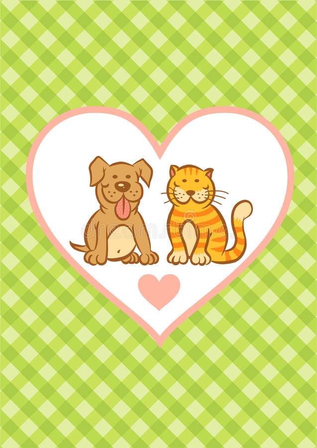 Free Cat And Dog Stock Photo - 40286660