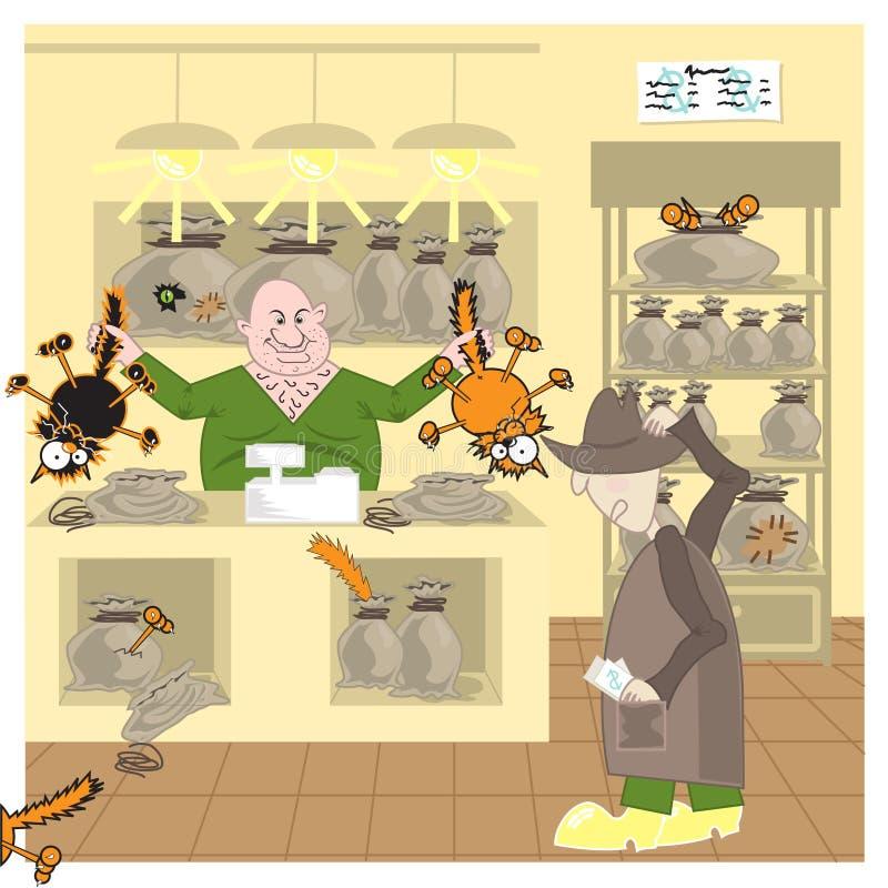 Cat_in_Bag illustrazione di stock