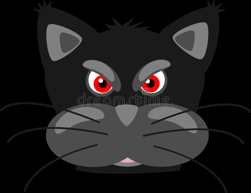 Cat, Black, Black Cat, Mammal royalty free stock photos