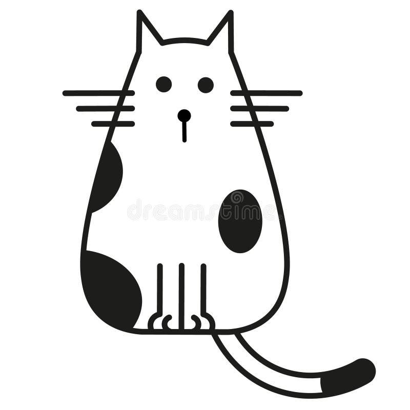 Black White Cat Clip Art Stock Illustrations 4 926 Black White Cat Clip Art Stock Illustrations Vectors Clipart Dreamstime